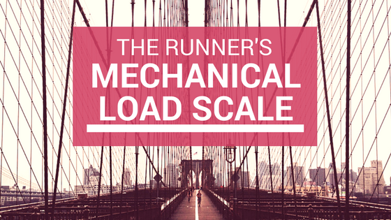 Runners Mechanical Load Scale